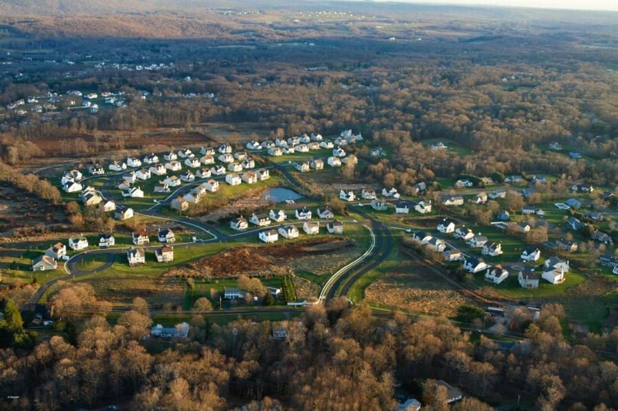 Aerial View - Fieldstone Farms